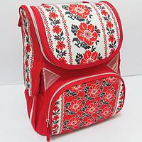 Рюкзак ранец ортопедический ТМ Josef otten Германия Вышиванка JO-1618 для девочки