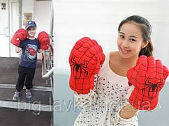 Рукавички руки Людини-Павука боксерські Червоний