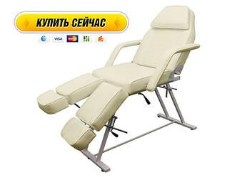 Кушетка косметологическая универсальная(педикюр-косметология) кресло-кушетка для педикюра для тута салона  240