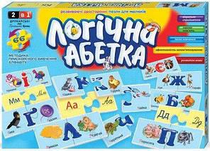 Развивающие пазлы Danko Toys Логическая азбука (2621DT)