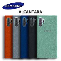 Оригинальный чехол Alcantara для Samsung Galaxy Note 10 Plus N975