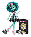 Кукла Monster High Хани Свомп (Honey Swamp)  Страх, Камера, Мотор! Монстер Хай Школа монстров, фото 6