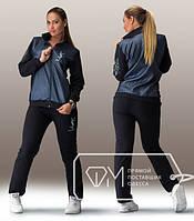 Спортивный костюм женский Синий YSL ТЯ/-09