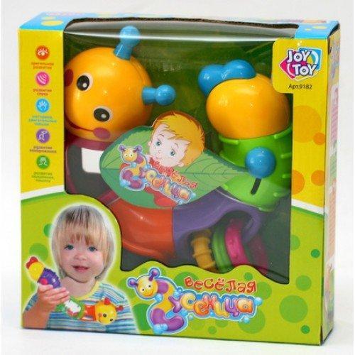 Игра Joy Toy 9182/786 гусеница-логика Разноцветный