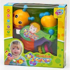 Гра Joy Toy 9182/786 гусениця-логіка Різнобарвний