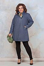 Кардиган женский  батал. Цвет серый, бордо, графит  Размеры 56 , 58 , 60
