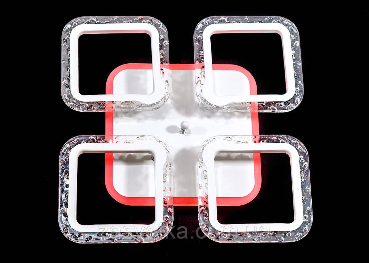 Люстра потолочная MX2517-4S WH (белая)