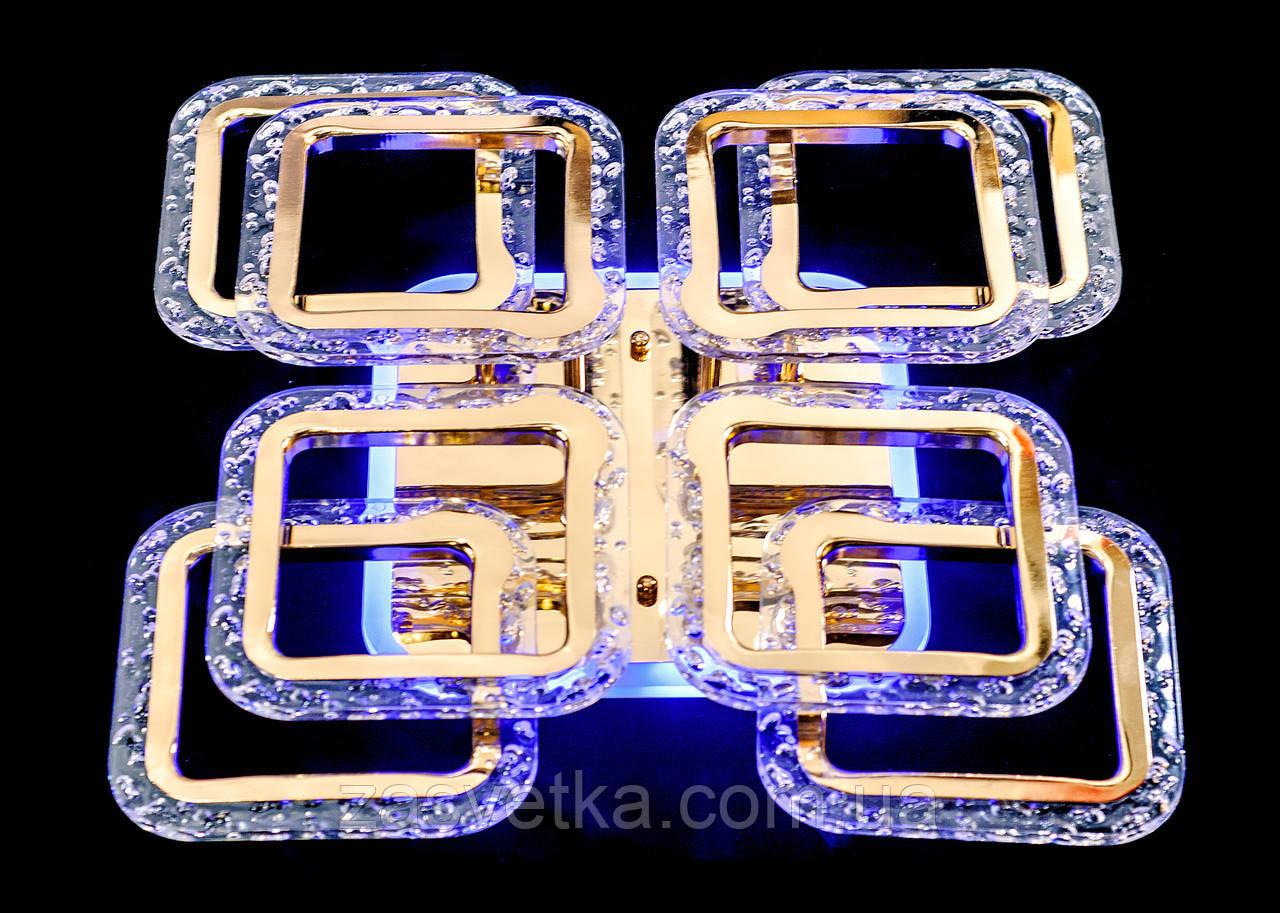 Люстра светодиодная MX2517-4+4S FG (золото)