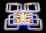Люстра светодиодная MX2517-4+4S FG (золото), фото 1