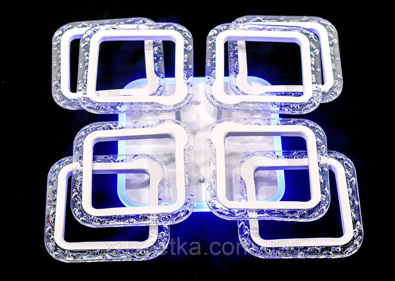 Люстра потолочная MX2517-4+4S WH (белая)