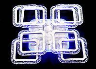 Люстра потолочная MX2517-4+4S WH (белая), фото 1