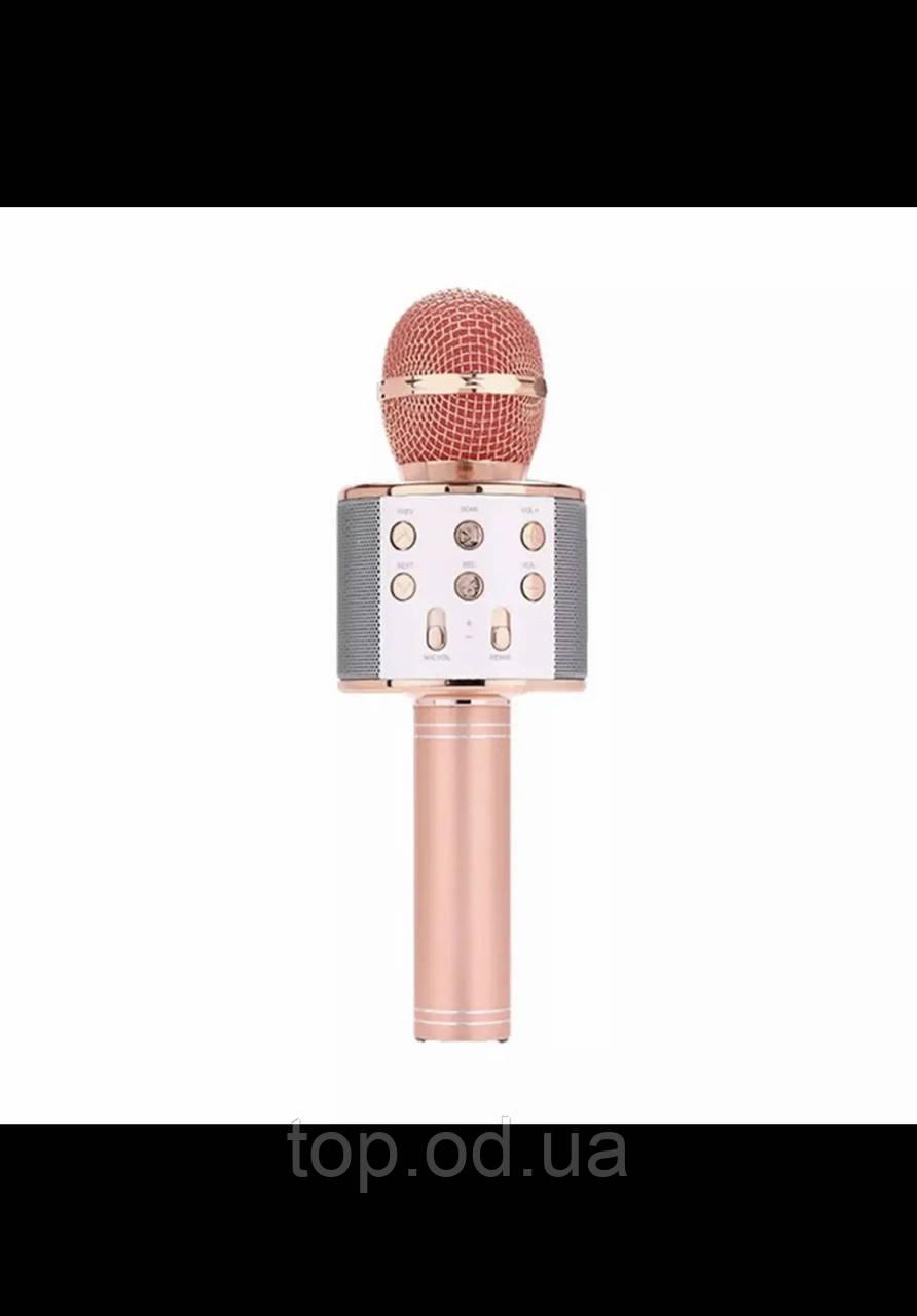 Микрофон-караоке безпроводной WS-858