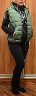 Жилетка стеганая женская, фото 1