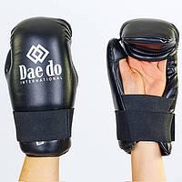 Перчатки для тхэквондо ITF DAEDO черные MA-5475-BK