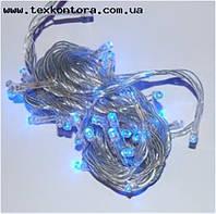 Гирлянды светодиодные led 100 blue