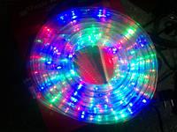 Светодиодная лента на улице разноцветная 20 метр