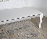 Стол обеденный LIVERPOOL S 140/185/230*85 керамика белый глянец Nicolas (бесплатная доставка), фото 4