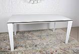 Стол обеденный LIVERPOOL S 140/185/230*85 керамика белый глянец Nicolas (бесплатная доставка), фото 7