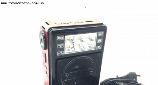 Радиоприемник GOLON RX-198, компактное радио для дома и дачи