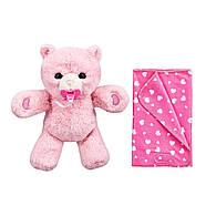 Little Live Pets Интерактивный розовый Медвежонок, фото 3