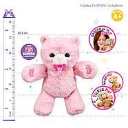 Little Live Pets Интерактивный розовый Медвежонок, фото 4