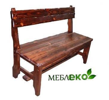 Купить мебель сад, Лавка Русич