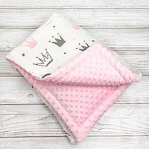Демисезонный конверт одеяло на выписку Oh My Kids сезон весна-осень, фото 2