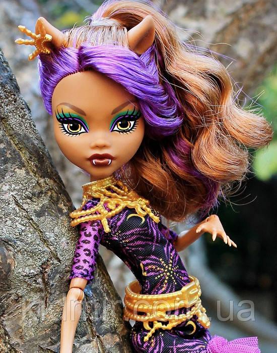 Кукла Monster High Клодин Вульф Clawdeen Страх, Камера, Мотор! Монстер Хай Школа монстров