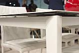 Стол обеденный LIVERPOOL S 140/185/230*85 керамика белый глянец Nicolas (бесплатная доставка), фото 3