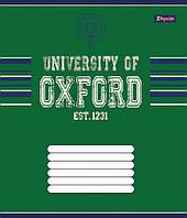 Тетрадь ученическая А5/12 клетка 1 Вересня OXFORD классик-15