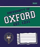 Тетрадь ученическая А5/12 клетка 1 Вересня OXFORD классик-15, фото 1