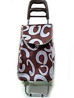 Тачка сумка с колесиками кравчучка 96см MH-1900 Brown