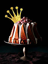 Топпер Корона на кекс, Топперы золотые короны, Топперы для кексов, Золотая корона. Индивидуальный цвет #2