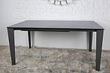 Стол обеденный LIVERPOOL S 140/185/230*85 керамика графит Nicolas (бесплатная доставка), фото 3