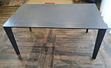 Стол обеденный LIVERPOOL S 140/185/230*85 керамика графит Nicolas (бесплатная доставка), фото 2