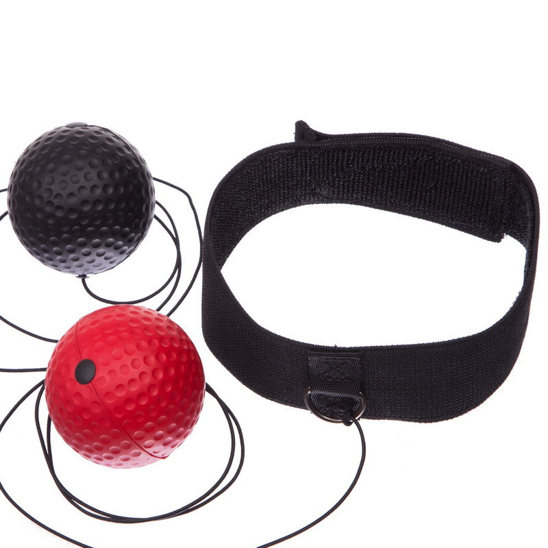Тренажер для боксу з двома м'ячами fight ball BO-1660