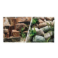 Hagen Marina Rocky Canyon-Riverbed двусторонний фон для аквариума 45см х 7.5м