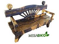 """Лавка  для кухни\ дачи\ бани\ сада деревянная """" Козацкая """"."""