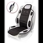 Накидка на сиденье с подогревом Vitol H 19002 GY/BK
