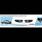Противотуманные фары Vitol NS-080 E Nissan Maxim 2003 эл.проводка