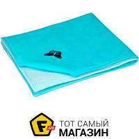 Плед для новорожденных 75 x 90 см - легкое - силиконизированное полиэфирное волокно Руно 956У голубой голубой