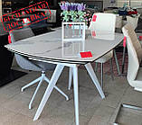 Стол обеденный COVENTRY керамика белый 130/200*89.5 Nicolas (бесплатная доставка), фото 2