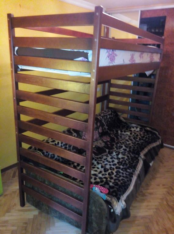 Ліжко чердак Шрек