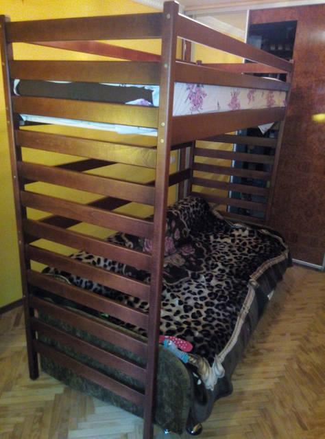 Ліжко чердак Шрек 1