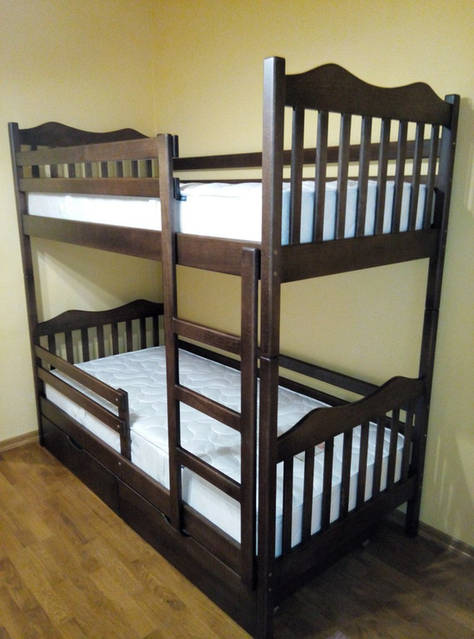 Ліжко двоярусне Мауглі 2