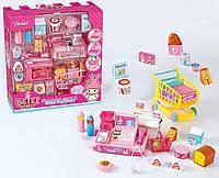 """Игровой набор """"Магазин"""" А 2008 (10) кассовый аппарат со световыми и звуковыми эффектами, с аксессуарами, в коробке"""