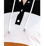 Яркий нарядный повседневный костюм-двойка, в комплекте – брюки и кофта, фото 2
