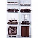 Складной тканевый шкаф Storage Wardrobe 88130 № G09-32, фото 3