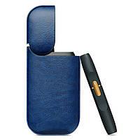 Чехол для IQOS 2.4 Plus PU Leather Case Синий