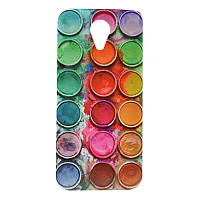 Чехол с рисунком Printed Plastic для Meizu M1 Note Краски
